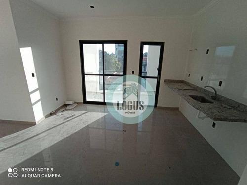 Imagem 1 de 26 de Apartamento Com 2 Dormitórios À Venda, 60 M² Por R$ 397.000 - Jardim Copacabana - São Bernardo Do Campo/sp - Ap1812