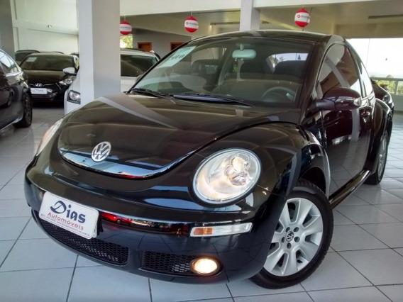 Volkswagen New Beetle 2.0 Mi 2010 Preto Gasolina