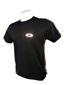 Camiseta Oakley Camisa Oakley Símbolo Luminoso Olho De Gato