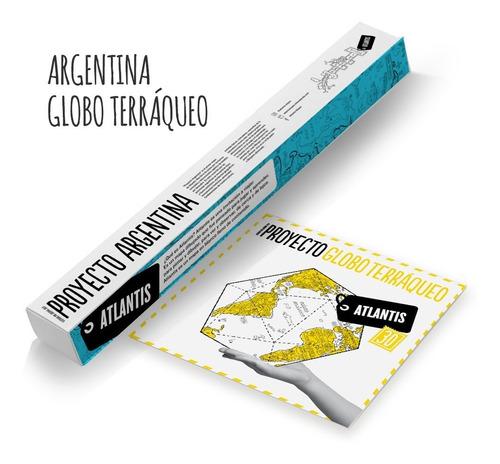 Atlantis Mapas - Globo Terraqueo + Argentina -sitio Original