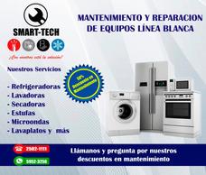 Reparación De Lavadoras, Secadoras, Refrigeradoras, Estufas,
