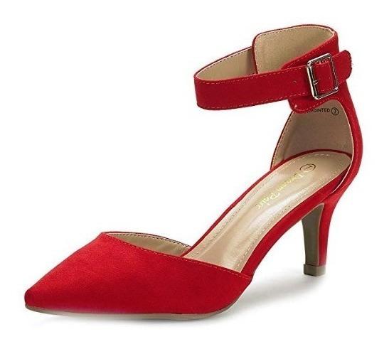 nuevo producto 6d273 d857e Zapatos Rojos De Tacon Bajo - Calzado en Mercado Libre México