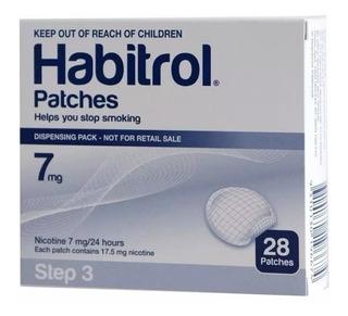 Parches Habitrol Nicotina Original 7mg Dejar De Fumar