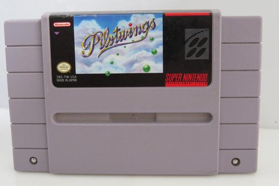 82 Pilot Wings 100% Original Snes Cartucho Super Nintendo