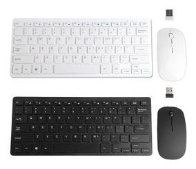 Mini Teclado Mouse Sem Fio Keyboard Wireless Pronta Entrega