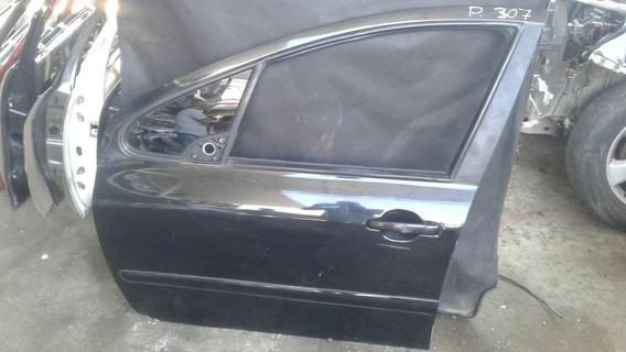 Porta Dianteira Esquerda C/ Detalhe Peugeot 307 Orig 7993