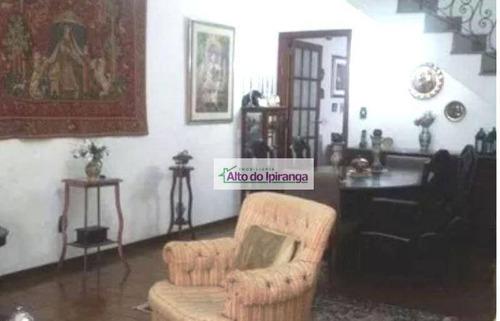 Sobrado À Venda, 209 M² Por R$ 850.000,00 - Vila Moinho Velho - São Paulo/sp - So0842