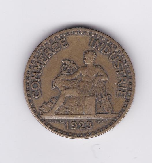 Ltc176. Moneda De 2 Francos De 1923. Iii Republica Francesa.