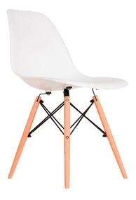 Cadeira Charles Eames Wood Design Várias Cores Eiffel