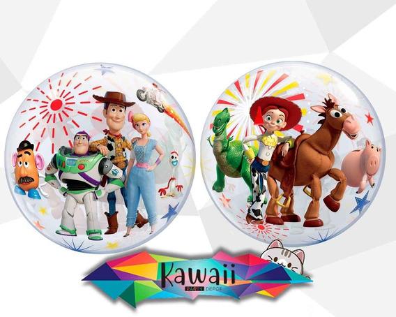 Globo Burbuja Toy Story 4 - 55 Cm - 100% Helio