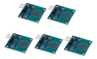 5pcs Ttp223b Digital Touch Sensor Capacitive Touch Switch Mo
