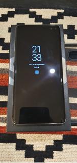 Samsung S10 Plus + Cover Spigen + Microsd 64.