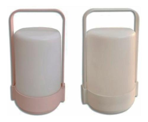 Lámpara Velador Con Asa Para Llevar, Deco Luces, Led, Ilumin