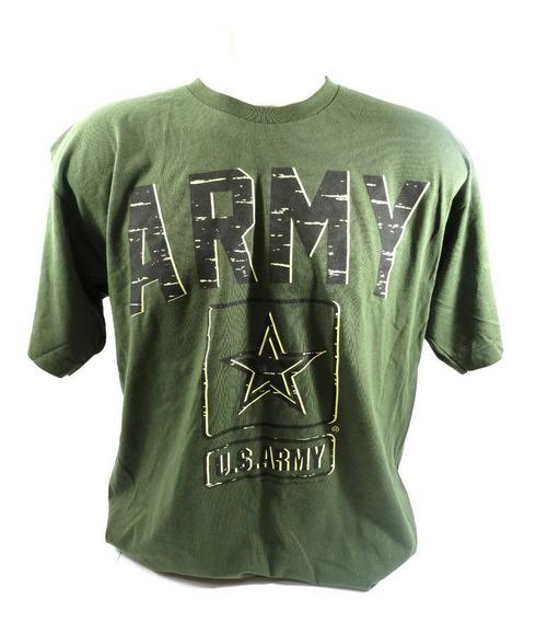 Camisa Bayside Army Masculina Verde Tamanho G