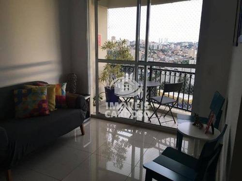 Imagem 1 de 5 de Apartamento Com 2 Dormitórios À Venda, 53 M² Por R$ 410.000 - Vila Lageado - São Paulo/sp - Ap0217