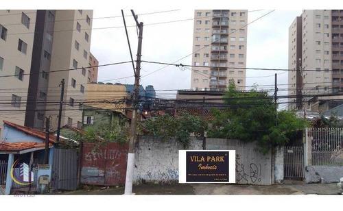 Terreno À Venda, 585 M² Por R$ 2.100.000 - Vila Osasco - Osasco/sp - Te0145