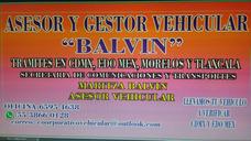 Asesoria Y Gestoria Vehicular Balvin