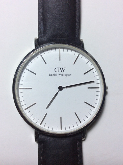Relógio Daniel Wellington Silver (classic 40 Mm Sheffield)