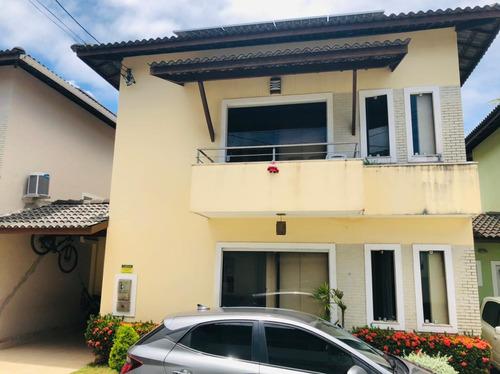 Imagem 1 de 29 de Casa Com 4 Quartos, 171m2, À Venda - Buraquinho - Lauro De Freitas - 151