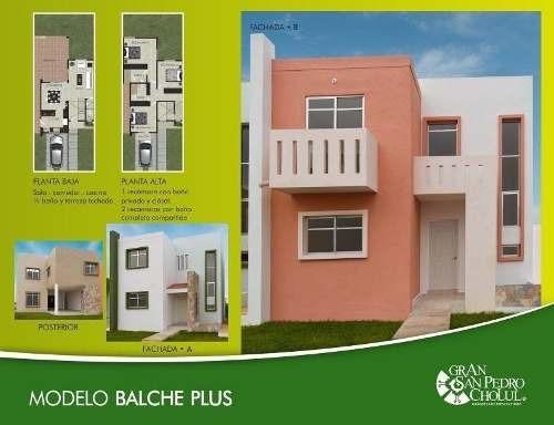 Casa En Venta, Gran San Pedro Cholul, Mod. Balché Plus