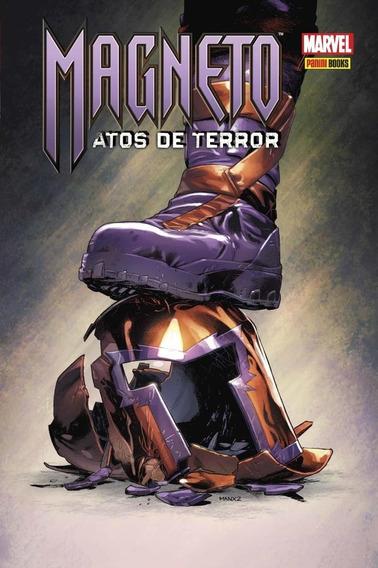 Hq Magneto Atos De Terror Panini Lacrado