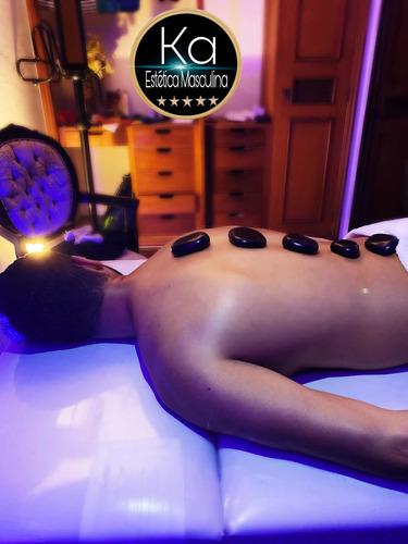 Imagem 1 de 1 de Massagem Relaxante E Pedras Quentes