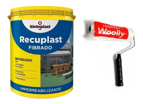 Recuplast Fibrado Techo Membrana Liquida 20 K + Rodillo Mm