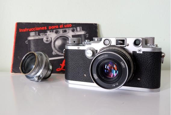 Câmera Leica Drp Iiic De 1940 - Ernst Leitz Revisada - Top!!