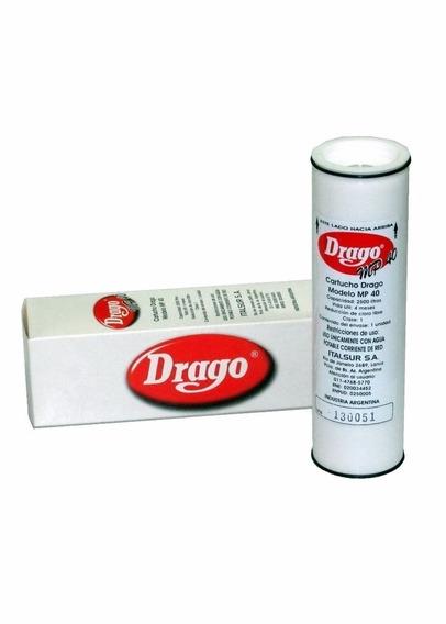 Filtro De Repuesto Original Para Purificador De Agua Drago Aprobado Anmat Distribuidor Oficial Drago