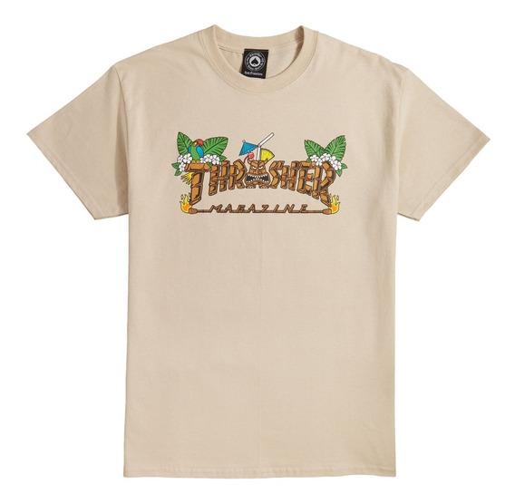 Playera Thrasher Tiki Sand Tee T-shirt Skate