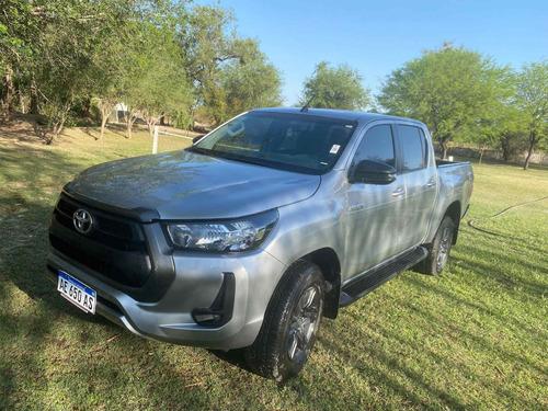 Imagen 1 de 8 de Toyota Hilux 2021 2.8 Cd Sr 177cv 4x4