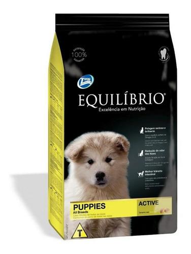 Imagen 1 de 2 de Equilibrio Cachorro 15+3(18kg) + Obsequio - Ver Variantes