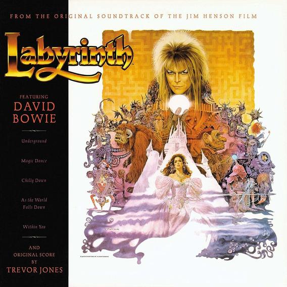David Bowie Labyrinth Soundtrack Vinilo Nuevo Importado
