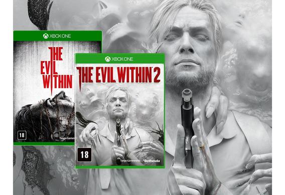 The Evil Within 1 E 2 Xbox One Midia Fisica Novos - Lacrados