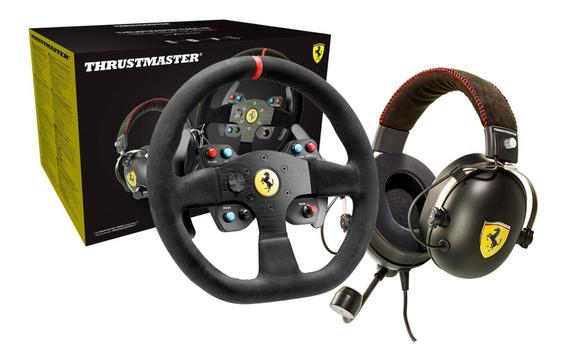 Volante Thrustmaster 599xx Racing Alcantara + Fone Ferrari
