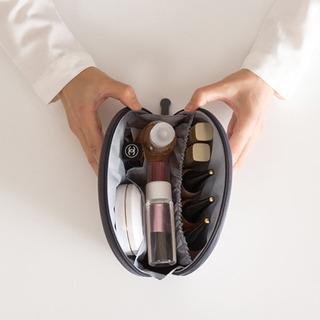 Organizador De Brochas De Maquillaje Portátil Bolsa De Aseo