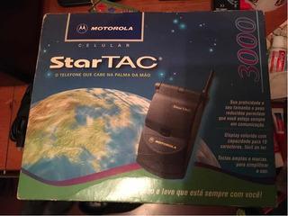 Celular Colecionador Startac 3000 Motorola