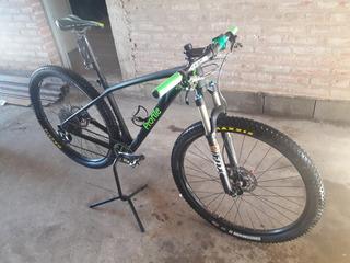 Bici Mtb Profile Carbono Shimano Fox