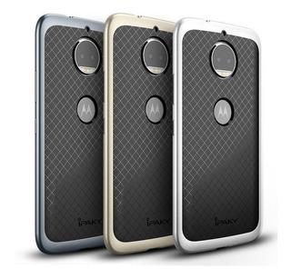 Funda Ipaky Motorola Moto G4 G5 G5s Plus Bumper Simil Metal