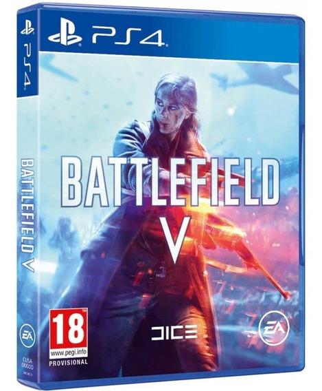 Battlefield 5 Bf V Ps4 Dsico Fisico Novo Lacrado Br Promoção