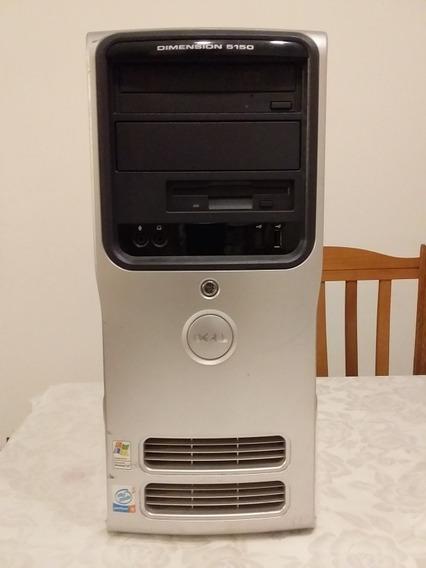 Dell Dimension 5150 Pentium4 3.2ghz 2.5gb Ram Hd Sata 250gb