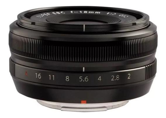 Lente Fuji Fujifilm Xf 18mm R F2 Xt2 Xt3 Xt20 Xt30 Zerada