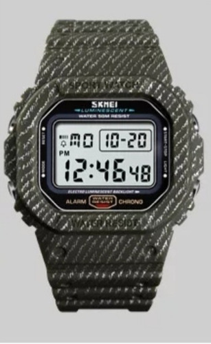 Relógio De Pulso Masculino Digital Skamei Quartz