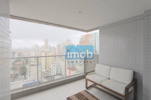 Imagem 1 de 25 de Apartamento Com 2 Dormitórios À Venda, 78 M² Por R$ 850.000,00 - Gonzaga - Santos/sp - Ap5139
