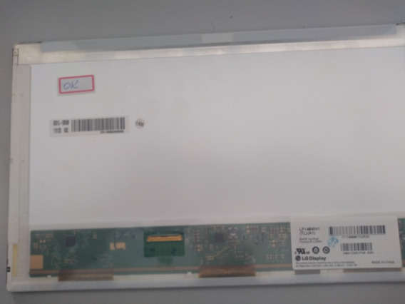 Tela 14.0 Led Notebook Part Number Lp140wh1 (tl)(a1)