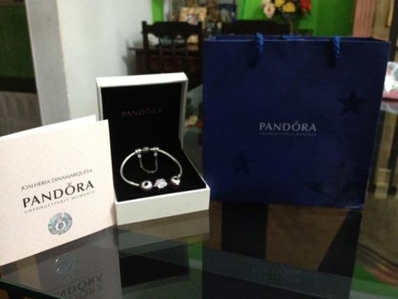 Pulseira Original Pandora Lilás De R$ 1.250,00 Por R$ 998,00