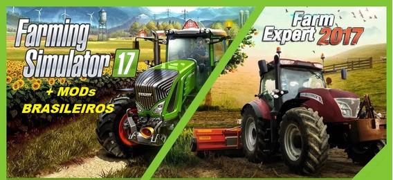 Farm Expert 17 + Farming Simulator 17 (pc Mídia Física)
