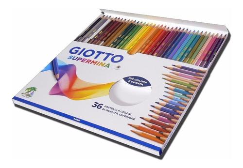 Navidad Lapices Giotto Supermina X 36 Colores