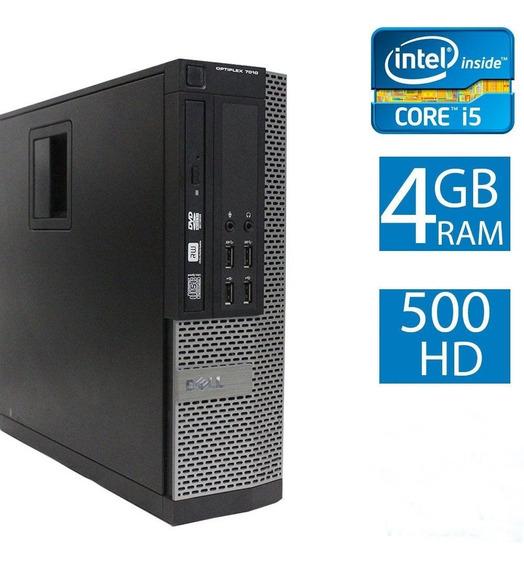 Dell Optiplex 7010 Core I5 3470 3.20ghz Hd 500gb 4gb Dvd
