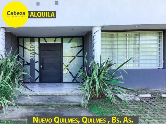 Departamento 2 Ambientes En Alquiler Nuevo Quilmes